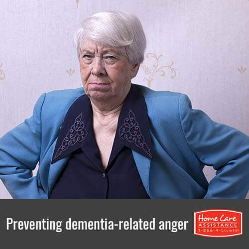 How to Prevent Dementia-Related Anger in Roseville, CA