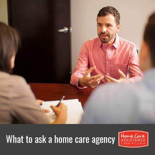 5 Questions You Need to Ask an Elderly Home Care Agency in Roseville, CA