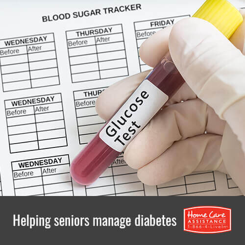 How to Help Your Elderly Loved One Manage Diabetes in Roseville, CA