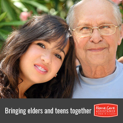 Tips to Unite Seniors with Adolescents in Roseville, CA