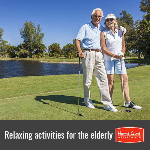 Relaxing Activities Seniors WIll Enjoy in Roseville, CA