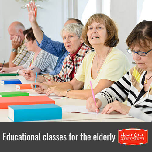 Classes That the Elderly Can Take to Expand Their Education in Roseville, CA