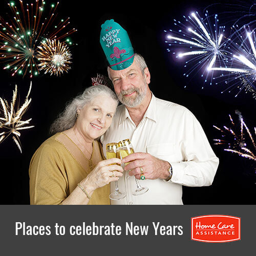 Great Places Where Seniors Can Celebrate New Year's Eve in Roseville, CA