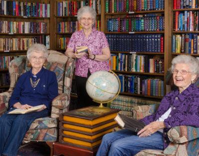 Library For Seniors in Roseville