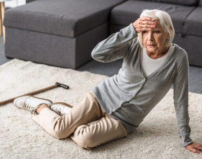 Results of a Older Adult Falling in Roseville, CA