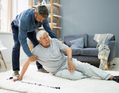 What to Do if Your Elderly Parent Falls in Roseville, CA